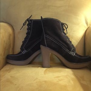 Marc Fisher Brown Suede Boots - 9 1/2 - NWOB